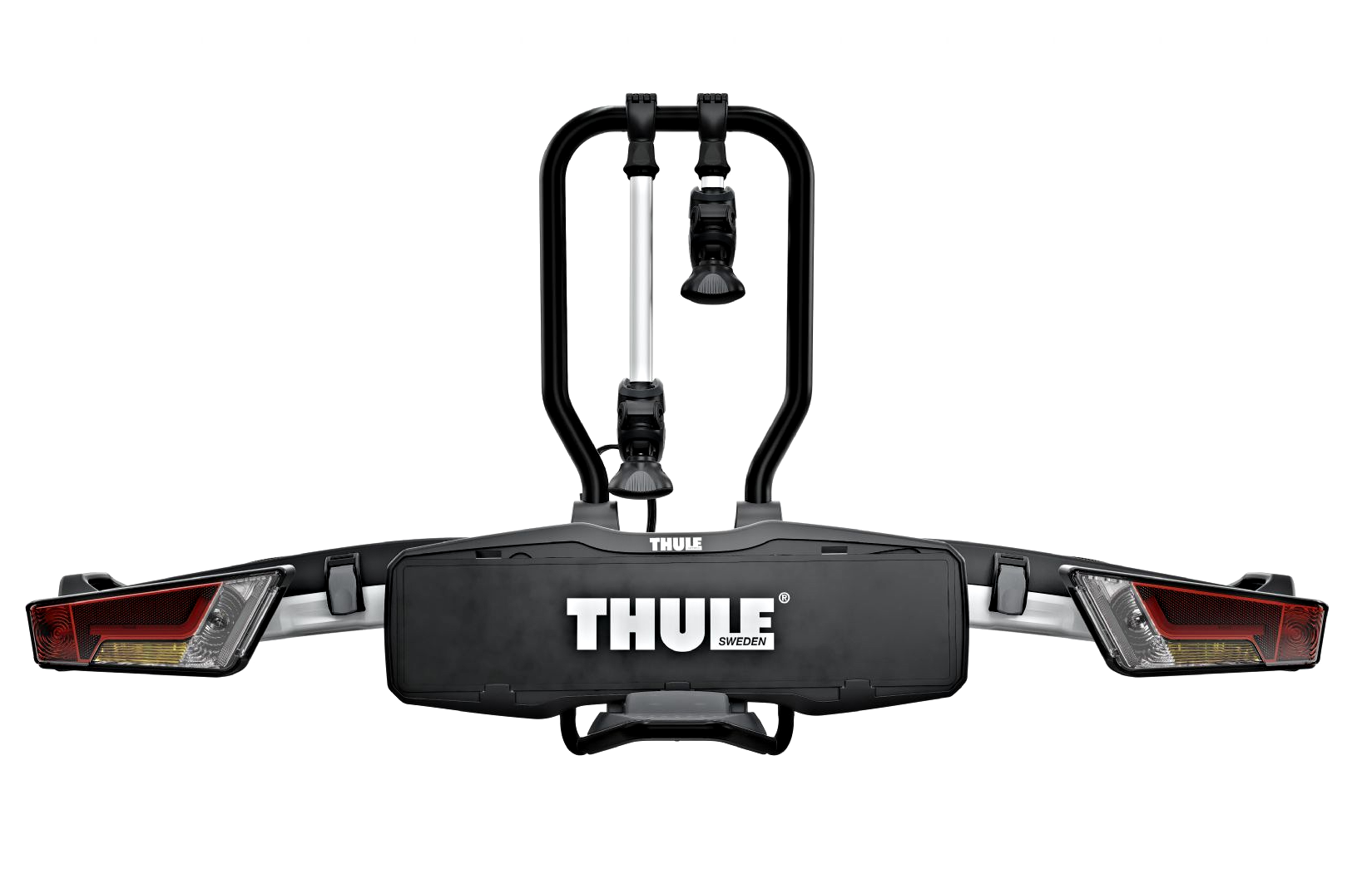 thule 933 easyfold 2 bike xt cycle carrier rack tow bar. Black Bedroom Furniture Sets. Home Design Ideas
